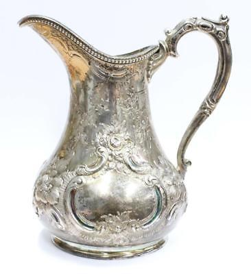 Savage & Lyman 1850-1867 Sterling pitcher Montreal Canada 4.75 inch 209 grams