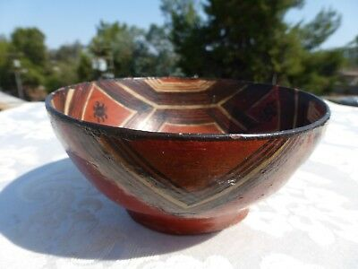 GREAT Detailed Native American New Mexico Detailed Old Pottery BOWL