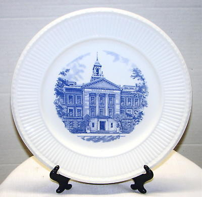 Wedgwood Simmons College Main Building 50th Anniversary Plate