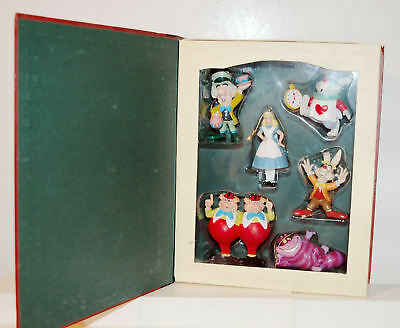 ALICE IN WONDERLAND  -DISNEY'S CHRISTMAS COLLECTION STORYBOOK  Figure Ornaments