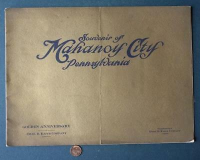 1909 Mahanoy City,Pennsylvania Kaier Brewing Co.Golden Anniversary photo booklet