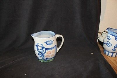 Cow Pitcher - M.A. Hadley Country Pattern Stoneware / Pottery Collection