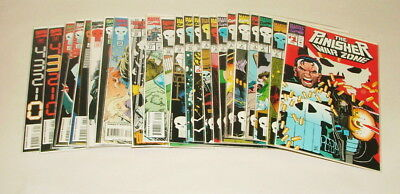 % 1990's Marvel The Punisher  Comic Book Collection Lot V-26