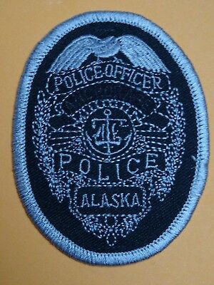 very old police patch Anchorage ALASKA policía Polizei écusson Polizeiabzeichen