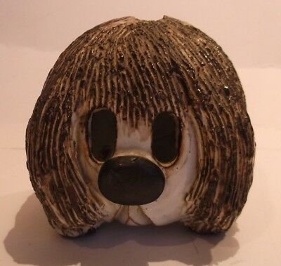 """dougall The Dog"" Themed Ceramic Moneybox- Possibly Briglin- Superb!"