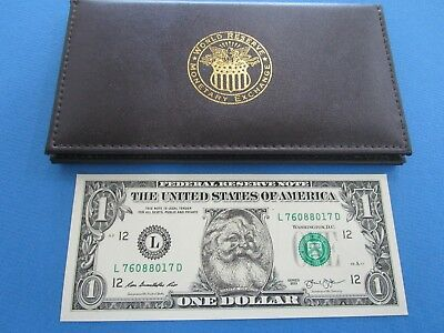 USA  2013 Special Issue One Dollar Father Christmas Note UNC