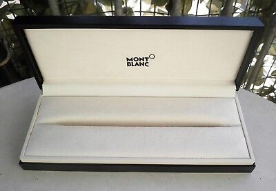 Scatola Penna Stilografica Montblanc Originale Fountain Pen Box Case