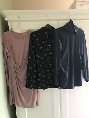 Ladies Size 10 Maternity Top Dress Bundle Asos New Look Mamalicious