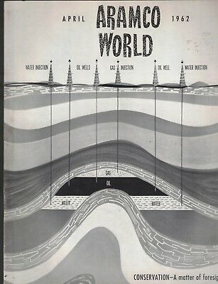 Aramco World April 1962 Magazine Arabian American Oil Company