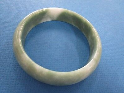 Chinese  Pale Green Hardstone Ladies Bangle