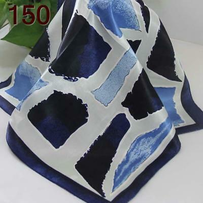 Office Women Ladies Elegant Small square Scarves Silky Office Kerchief Scarf 150