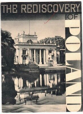 The Rediscovery of Poland tourist travel booklet c. 1935