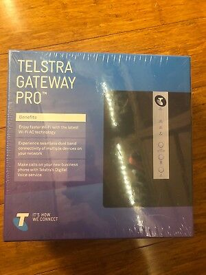 Brand New Telstra Gateway Pro Netgear V7610 Nbn Sealed Plastic Bnib