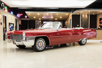 Cadillac Deville Convertible DeVille Convertible! Cadillac 429ci V8, TH400 Automatic, PS, PB, A/C, Power Top!
