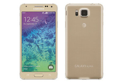 Samsung Galaxy Alpha SM-G850F 32GB Gold (Unlocked) Grade A Excellent Condition