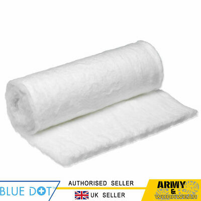 Click Medical First Aid 25g 100% Pure Cotton Soft Gentle Cleansing BPM Wool Roll