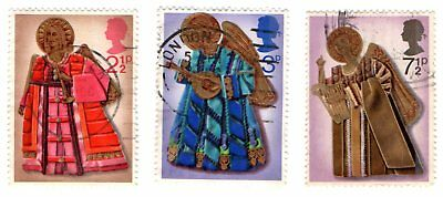 GB Stamps SG913-915 1972 Christmas. Multicoloured Complete set