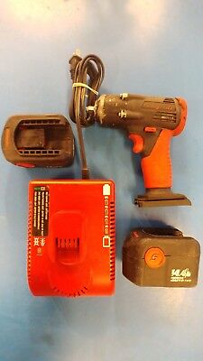 """Snap-on CT4410A 14.4V 3/8"""" Cordless Impact Wrench w/ Battery Charger"""