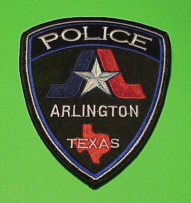 Arlington  Texas   Tx   Police Patch   Type 2  Nice!!   Free Shipping!!!