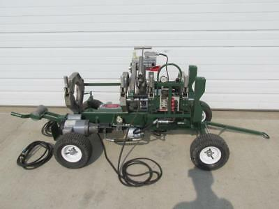 McElroy 28 Plastic Pipe Fusion Machine Cart with Facer & Heater Plate VERY NICE