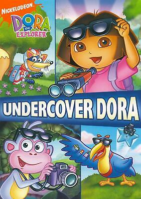 Dora the Explorer - Undercover Dora (DVD, 2008, Sensormatic Packaging) NEW