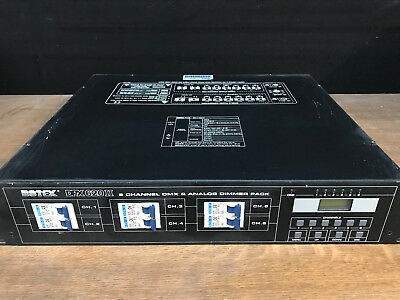Botex DPX-620 II, 6 Kanal Dimmerpack Switchpack Inst.