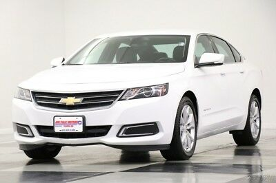 Chevrolet Impala LT Camera Leather Summit White Sedan For Sale 2017 LT Camera Leather Summit White Sedan For Sale Used 2.5L I4 16V Automatic