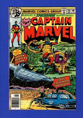 Captain Marvel #60 Nm 9.2 High Grade Bronze Age Marvel (Minor Cover Oxidation)