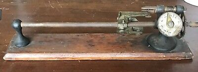 Antique Textile Industrial Yarn & Thread Tensile Strength Tester