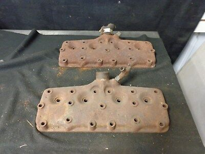 1937 FORD Flathead V8 60 HP CYLINDER HEADS, CAST IRON, PAIR