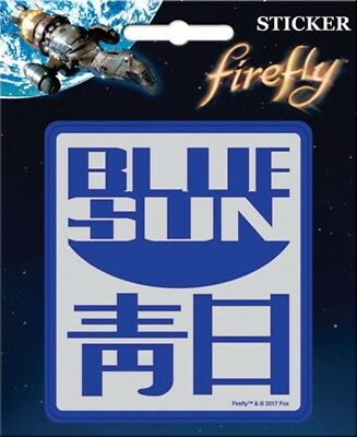 Firefly / Serenity Blue Sun Logo Peel Off Sticker Decal NEW SEALED