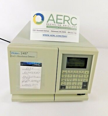 Waters 2487 Dual Absorbance Detector (WAT081110) Tested To Power On Only
