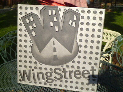 "Official Pizza Hut Wing Street Logo contemporary Sign-Man Cave-22"" x 22""-FreShip"