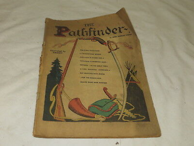 Vintage The Pathfinder Comic By James Fenimore Cooper Classics Illustrated