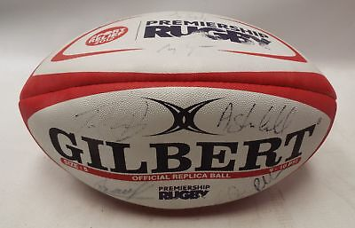RUGBY UNION PREMIERSHIP 2012 **Signed** Rugby Ball - Sport Relief 2012 - C69