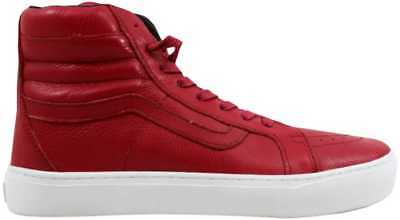 3bde6afae1c366 BNIB! VANS SK8 HI CUP CA Red leather chili pepper- men s sz. 11 ...