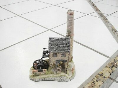 David Winter Cottage Cornish Engine House West Country Collection w/ Box Signed