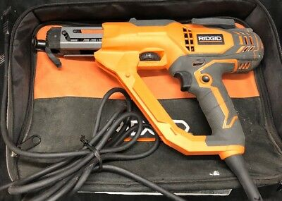 RIDGID 3 In. Drywall and Deck Collated Screwdriver R6791, NICE, QUICK SHIP