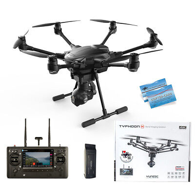 Yuneec Typhoon H RTF Advanced 1x Akku 4K CGO3+ ST16 Hinderniserkennung Anti-Coll