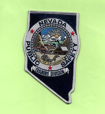 Nevada State Shaped-Nevada Public Safety/highway Patrol- Training Division