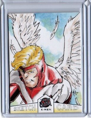 2018 Fleer Ultra X-Men Crees Hyunsong Lee Sketch Autograph Version Card #1/1