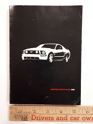 2008 MUSTANG - Original Owner's Guide - Excellent Condition