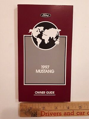 1997 MUSTANG - Original Owner Guide - Excellent Condition