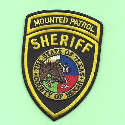 Texas- Hard To Get- Bexar County Sheriff Mounted Patrol- Large/nice Patch