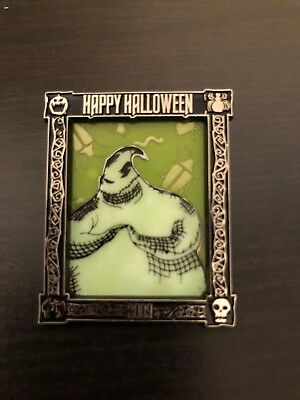 Disney Nightmare Before Christmas Limited Edition 1500 Oogie Boogie Pin Glows