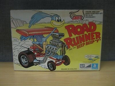 Road Runner & the Beep Beep 'T' Vintage MPC Vintage 1972 Model Kit Warner Bros