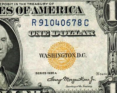 $1 1935A (( NORTH AFRICA ))  Silver Certificate  ** MORE CURRENCY FOR SALE **