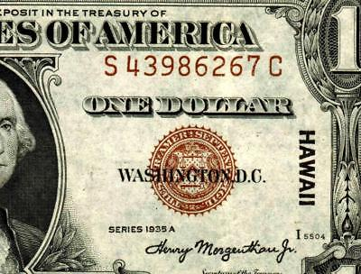 $1 1935A (( HAWAII ))  Silver Certificate  ** MORE CURRENCY FOR SALE **
