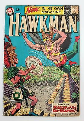 Hawkman #1 (VG+) 4.5, Silver Age DC Comics, 1st issue own title