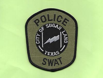 Texas- City Of Sugarland Police Department- Swat Unit-Subdued